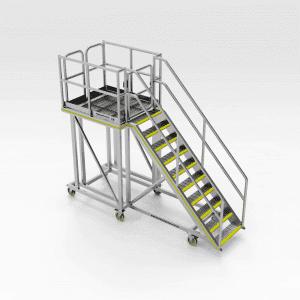 Caterpillar 994H Emergency Side Access and Work Platform