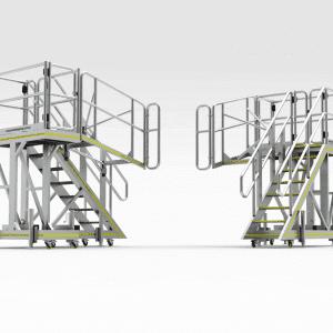 Caterpillar D10-D11 Engine Bay Platform