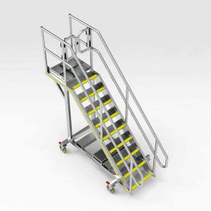 Caterpillar 16M Grader Cabin Access Platform