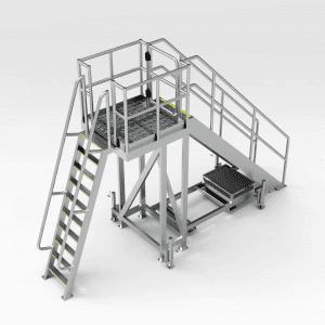 Crusher Bowl Access Platform