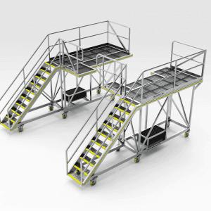 Volvo L120F Access Platform