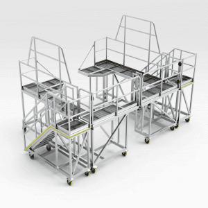 Sandvik LH621 Loader Front Access Platform