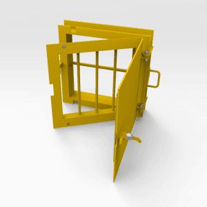 Jail Bar Door 450mm x 450mm