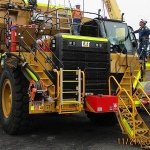 Caterpillar 777 Emergency Egress Ladder