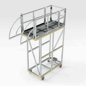 Komatsu WA1200 Front Hatch Access Platform