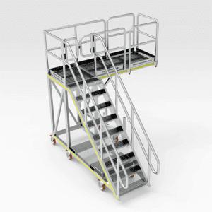 Caterpillar D10 Engine Access Platform