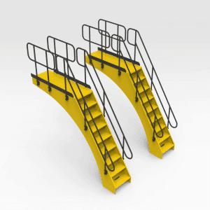 Caterpillar 994F Access Stairs