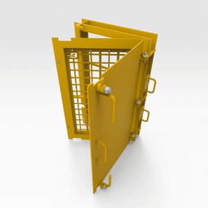 Mesh Machine Guarding Door