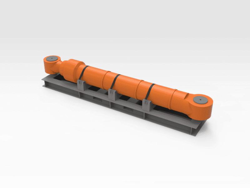Hitachi EX5500 Arm Cylinder Transport Frame