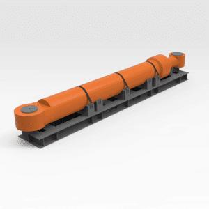 Hitachi EX5500 Boom Cylinder Transport Frame