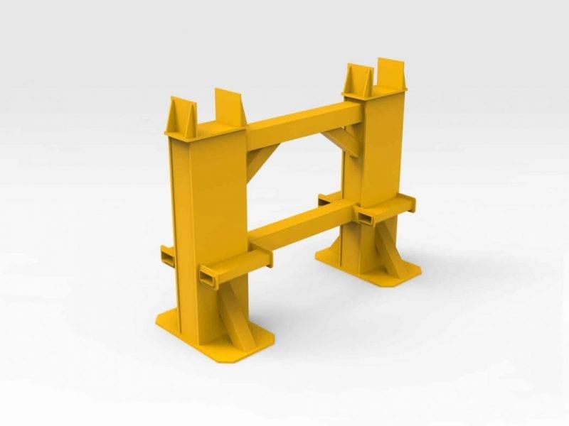 LeTourneau L2350 Lift Arm Stand
