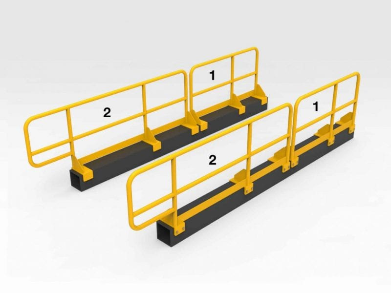 Caterpillar 793F Chassis Handrails