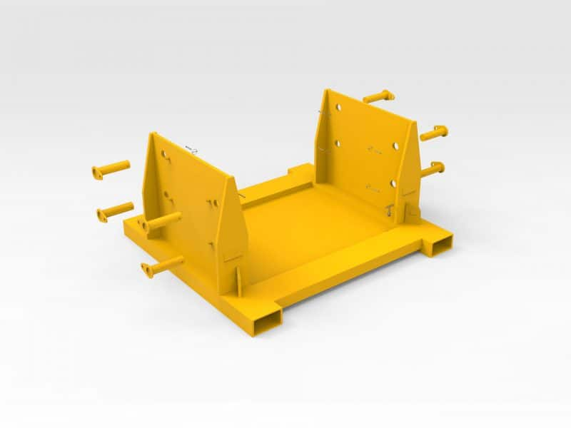 CAT D10 Dozer Nose Cone Stand - Bend-tech Group