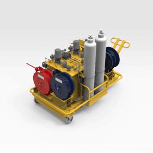 Truck Strut Oil Module Service Unit