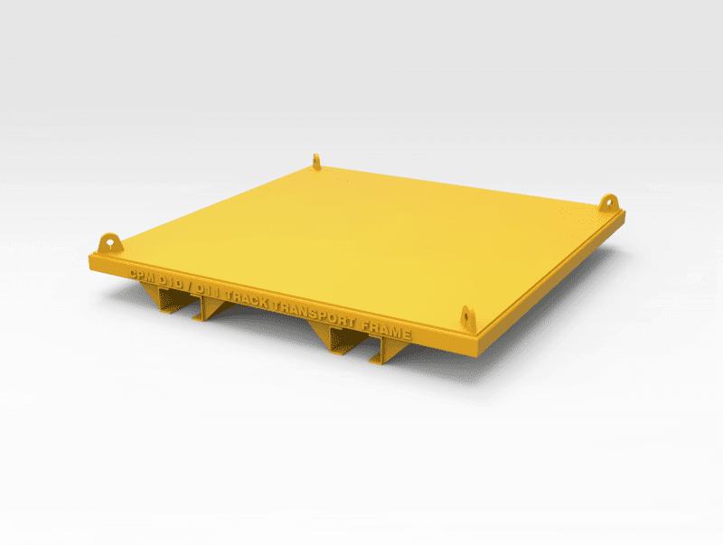 Caterpillar D10/D11 Track Transport Frames - Bend-tech Group