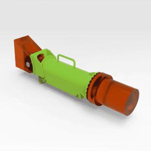 Sandvik DD421 Hydraulic Ram Clamp - 500mm