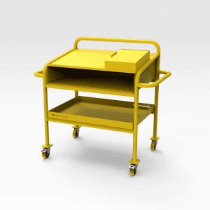 Aluminium Workshop Bench 1220mm (h)