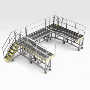 Sandvik LH621 Rear Access Platform