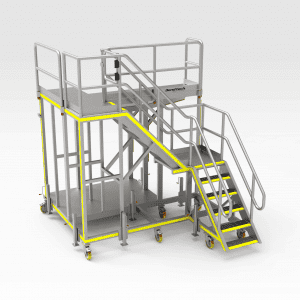 Sikorsky s92 RH Tail Access Platform