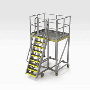Steel Chute Access Platform v2