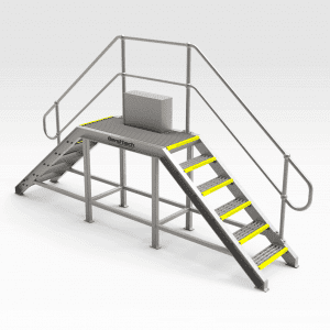 Steel Chute Access Platform