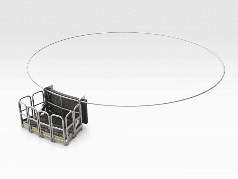 Overhang Platform