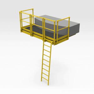 Rail Car Access Platform