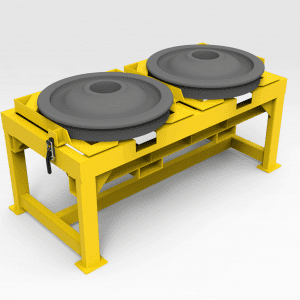 Wheel Blank Support Table