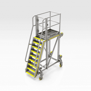 Mill Grizzly Chute Access Platform