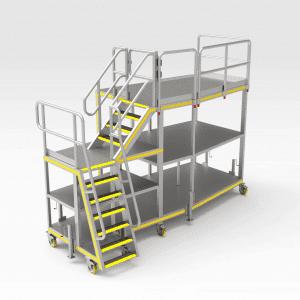 Sikorsky s92 LH Tail Access Platform