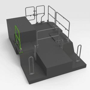 Handrail to suit OEM 453-8705