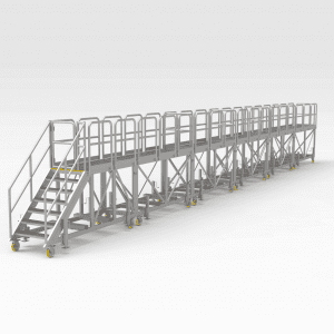 Modular Locomotive Access Platform