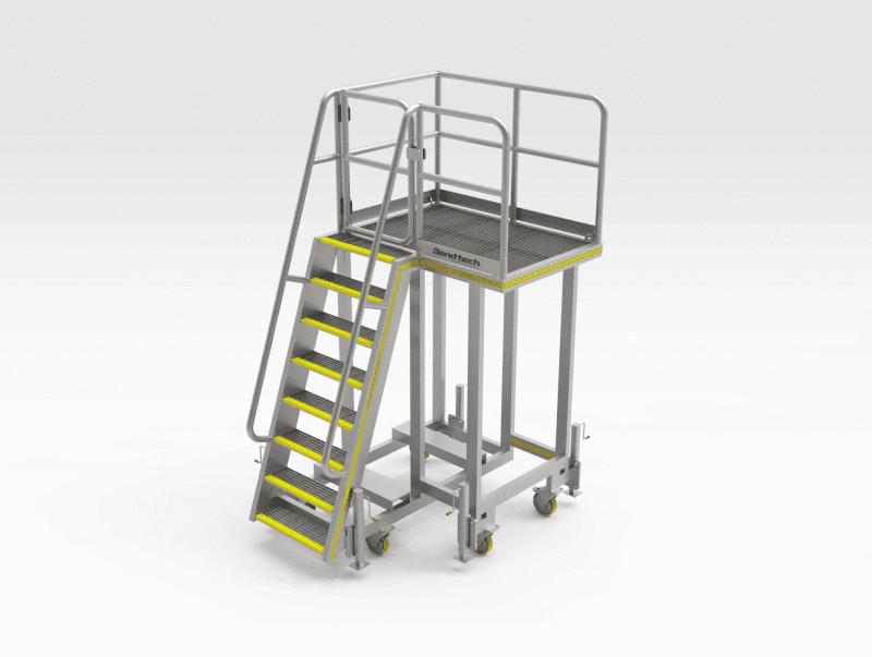 Car Dumper Access Platform