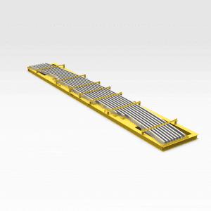 Rail Section Transport Frame