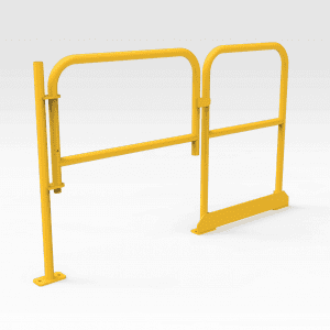 Self-closing Gate with Handrail