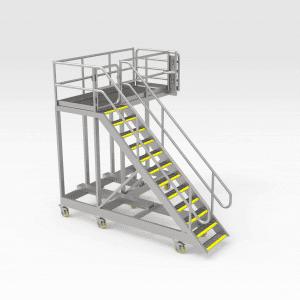 Water Cart Access Platforms