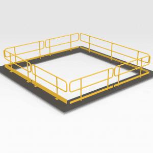 Pit Handrails