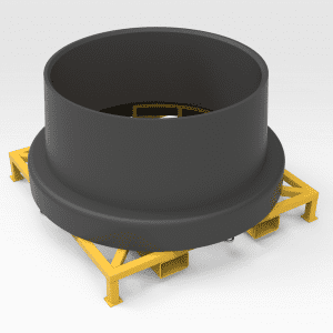 Transport Frame for Wheel Rims