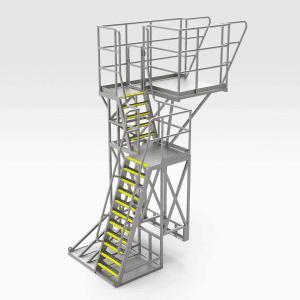 Steel Ball Mills Access Platform
