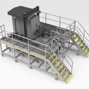 Trailer Pump Access Platform
