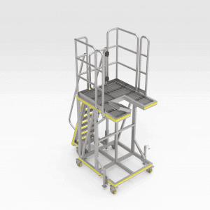 Lower Hopper Access Platform