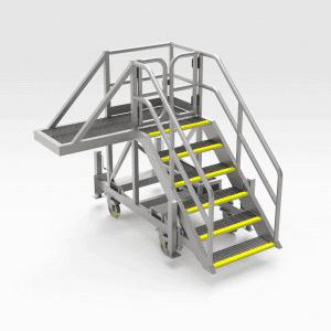 Reclaimer Bucket Access Platform