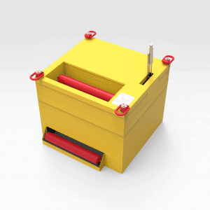 Self-dispensing Roller Crate