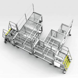 Caterpillar D10/D11 Rear Access Platform