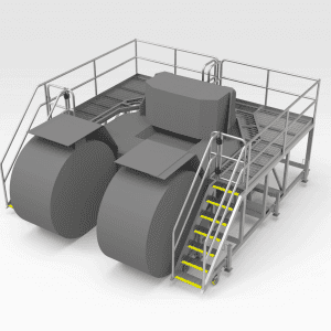 Caterpillar R2900/3000 Rear Access Platform