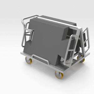 Mobile Mat Trolley