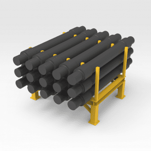 Slot Stand for Rail Axle Sets