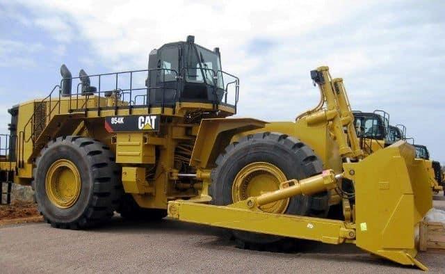 Caterpillar 854K Range