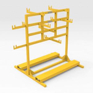 Komatsu 930E Chassis Handrail Storage Stand