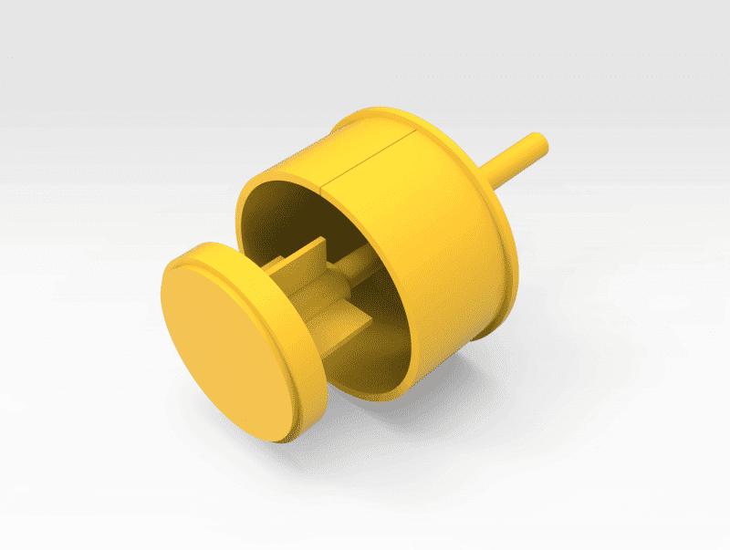 Komatsu 930E Hoist Cylinder Bearing Puller